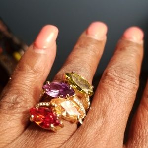 Jewelry - Colorful contemporary ring sz6